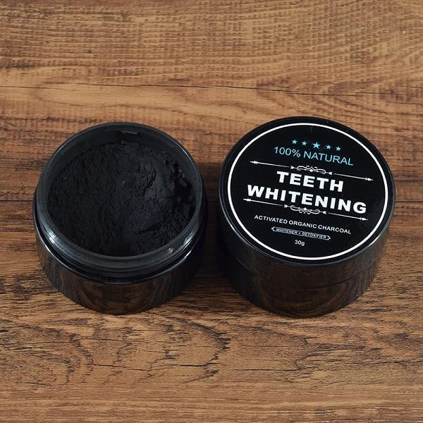 100% Natural Teeth Whitening Charcoal Powder - Pop Up Life