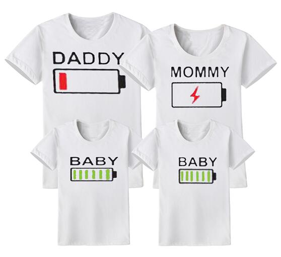Complete set of Family Matching T-shirts - Pop Up Life