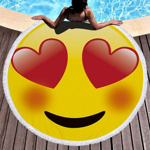 Emoji Beach Towel - Pop Up Life