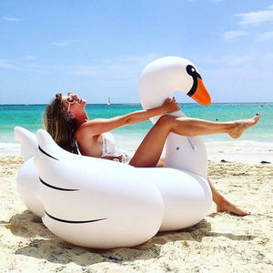Inflatable Swan - Pop Up Life