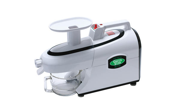 Twin gear juicer