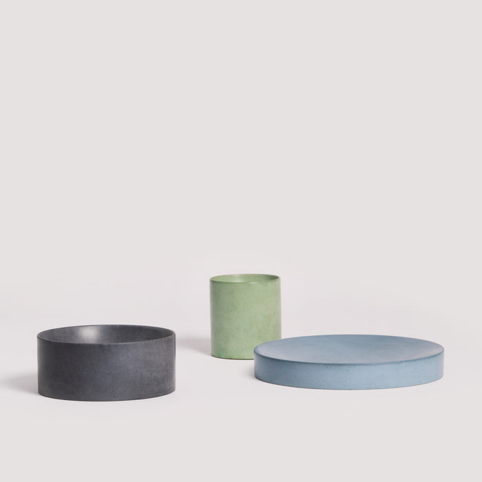 Booles Set - Concrete tableware/dinnerware