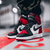 Air Jordan Bred Black Toe replica