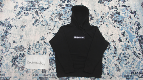 black supreme box logo hoodie replica