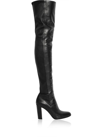 made to measure chunky heels thigh high boost