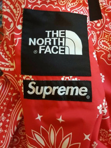 Fake Tnf Bandana Jacket Replica