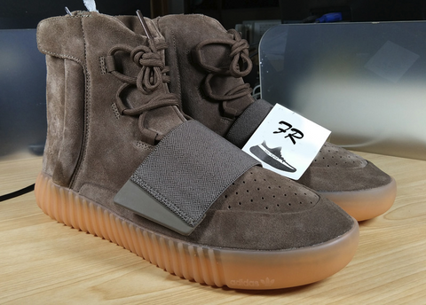 huge selection of 388e0 b8b9a PK God Yeezy Boost 750 Brown