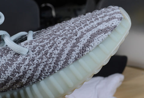pk god yeezy blue tint replica