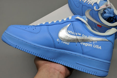 pk air force 1 MCA university blue replica