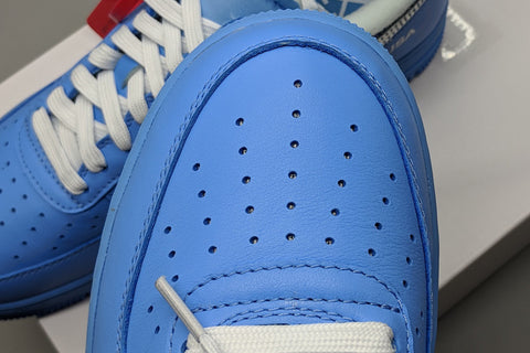 af1 MCA university blue replica