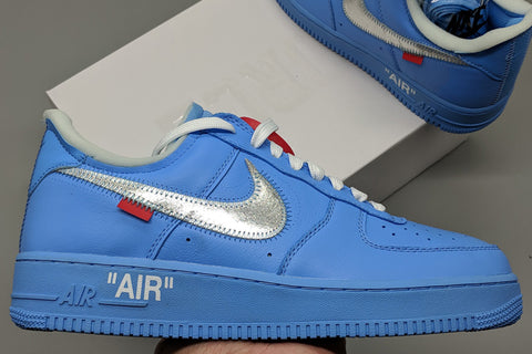 fake air force 1 MCA university blue