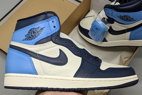 pk god air jordan 1 Obsidian Blue