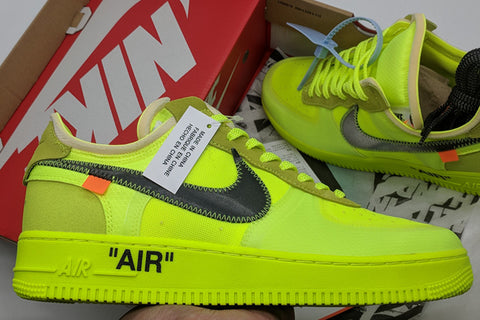 Custom Nike Air Force 1 Off White for @andrycrst Dipinto a