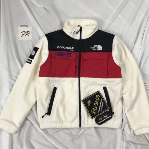 supreme the north face expedition fleece jacket