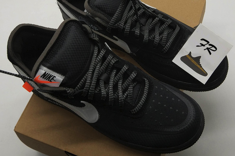 off white air force 1 black replica