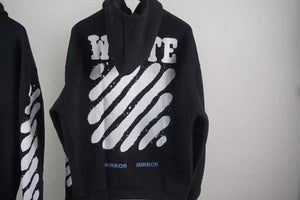 OW Diagonal Spray Hoodies (No Zip) - FashionsRep