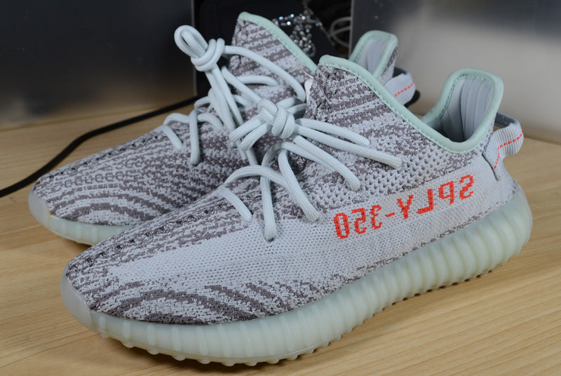 purchase cheap 432eb 77191 PK God Yeezy Boost 350 V2 Blue Tint