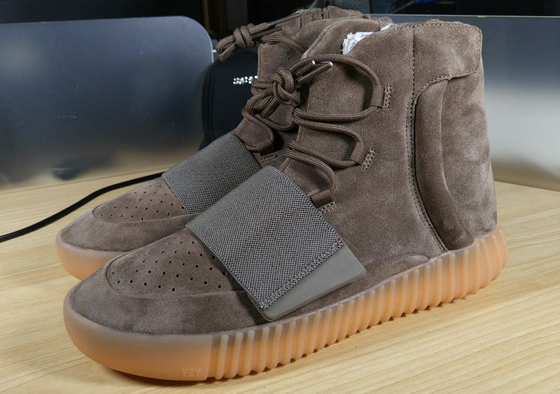 huge selection of dfce7 94014 PK God Yeezy Boost 750 Brown