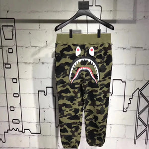 Bape Camo Shark Sweat Pants OT - FashionsRep