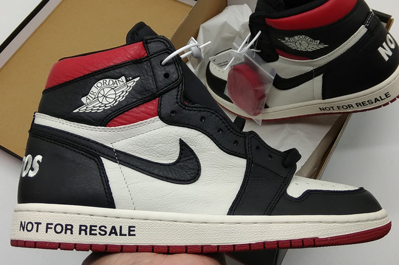 fe9f678ddf66 Air Jordan 1 Not For Resale Black Varsity Red – FashionsRep