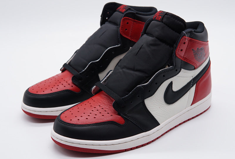 timeless design 87d13 6fbe2 Air Jordan 1 Retro 1 High OG Bred Toe