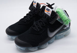 OW x NK Air VaporMax v2 Black - FashionsRep