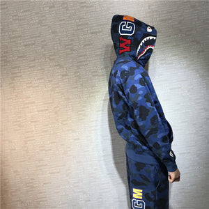 Bape Color Camo Shark Sweater OT - FashionsRep