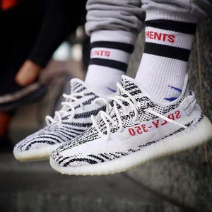 PK God Yeezy Boost 350 v2 Zebra - FashionsRep
