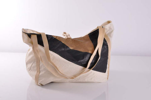 Beach Shopper M - Weiss/Gold