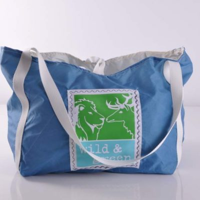 Beach Shopper M - Blau, Unikat