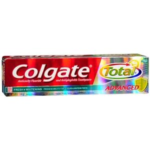 Colgate Total Advanced Fresh + Whitening Oral Care Products Mountainside-Healthcare.com Colgate, fluoride toothpaste, oral care, oral hygeine, toothpaste, whitening toothpaste