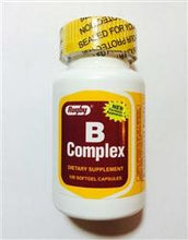 Buy Rugby Vitamin B Complex online used to treat Vitamins, Minerals & Supplements - Medical Conditions
