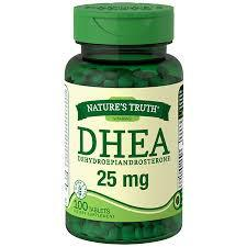 Nature's Truth DHEA 25 MG 100 Tablets Depression and Mood Health Mountainside-Healthcare.com anti-aging, Depression, Memory Strengthing, Mood health