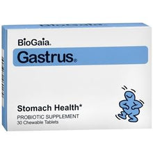 BioGaia Gastrus Chewable Probiotic Tablets for Stomach Health Probiotic Mountainside-Healthcare.com BioGaia, BioGaia Gastrus Chewable Probiotic, chewable probiotic, digestive health, probiotic