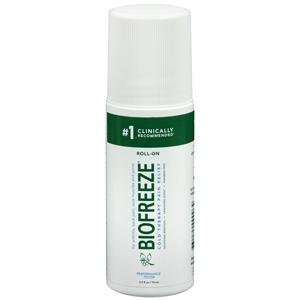 Biofreeze Pain Relieving Roll On, 2.5 oz. Muscle and Joint Relief Mountainside-Healthcare.com arthritis pain relief, Cold Therapy Pain Relief, Muscle Pain, Muscle pain relief, Pain Relief, sore muscle rub