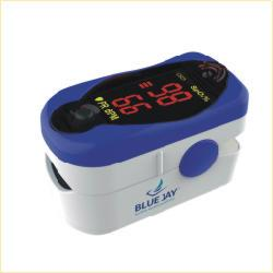 Buy Blue Jay Comfort Finger Tip Pulse Oximeter online used to treat Finger Pulse Oximeter - Medical Conditions