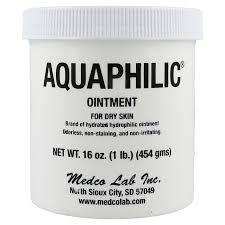 Buy Aquaphilic Ointment, 16 oz. Jar online used to treat Creams and Ointments - Medical Conditions