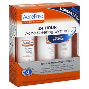 AcneFree 24 Hour Acne Clearing System Acne Products Mountainside-Healthcare.com Acne System, AcneFree, treatment of acne