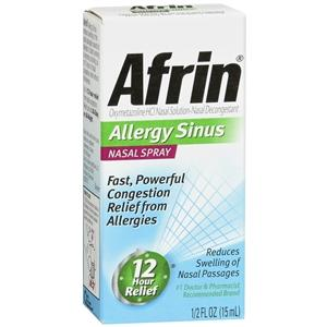 Afrin Sinus Nasal Spray, 15 ml Cold and Flu Mountainside-Healthcare.com