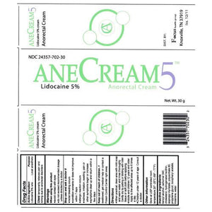 Anecream 5 Anorectal Rectal Pain Relief Cream Anorecta Cream Mountainside-Healthcare.com Anecream 5, Anorectal cream, Rectal Pain Relief