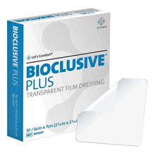 4 x 4 Bioclusive Plus Transparent Film Dressings 10/Box Transparent Film Dressing Mountainside-Healthcare.com Acrylic Adhesive Dressing, Bioclusive Plus Dressings, Transparent dressing, Waterproof wound dressing
