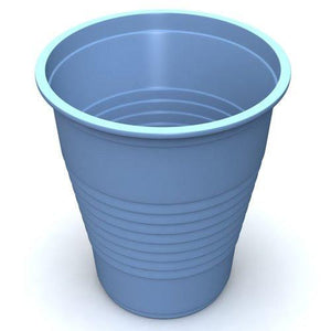Colored Plastic Drinking Cups, 1000/Case Kitchen & Bathroom Mountainside-Healthcare.com 5 oz cups, 5 oz drinking cups, blue, colors, dental cups, dental drinking cups, green, plastic cups