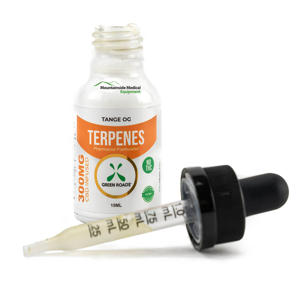 CBD Terpenes Oil with Dropper 300mg Tango Orange Flavor (Extra Strength) Made in USA