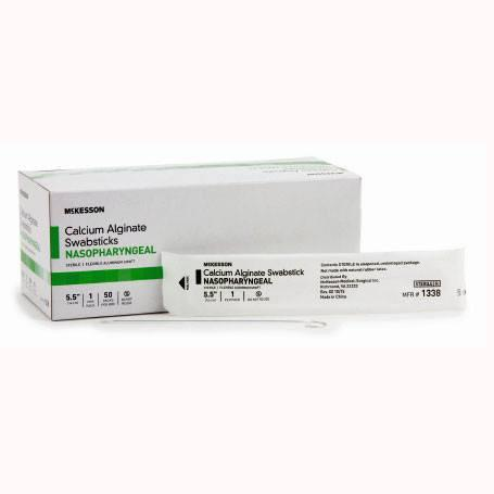 Buy Calcium Alginate Tipped Swabsticks with Aluminum Shaft, 50/Box online used to treat Specimen Collector - Medical Conditions