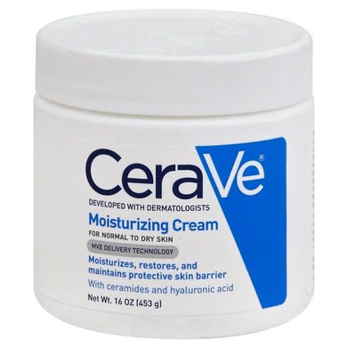 CeraVe Moisturizing Cream 16 oz Jar Dry Skin Relief Cream Mountainside-Healthcare.com Ceramides, Cerave Moisturizing Cream, Dry Skin Relief Cream
