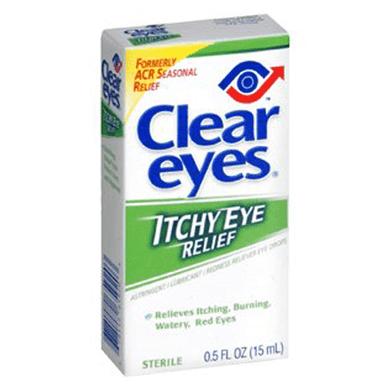 Clear Eyes Seasonal Itchy Eye Relief Drops Allergy Relief Eye Drops Mountainside-Healthcare.com ACR, Allergy Relief Eye Drops, Astringent, Eye Astringent, Itchy Eyes, new-arrivals, Red Eyes, Seasonal Relief