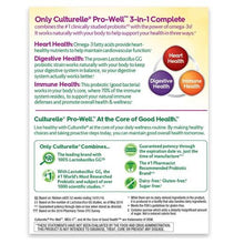 Buy Culturelle Pro-Well 3-in-1 Complete Probiotics with Omega 3s online used to treat Probiotic - Medical Conditions