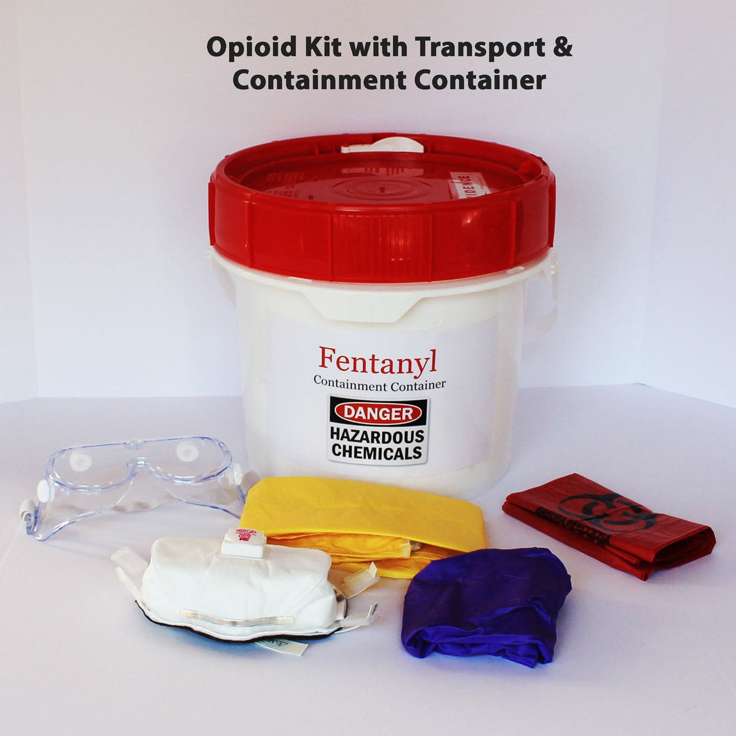 Buy Police Protection Kit with Transport Container online used to treat Fentanyl Protection - Medical Conditions