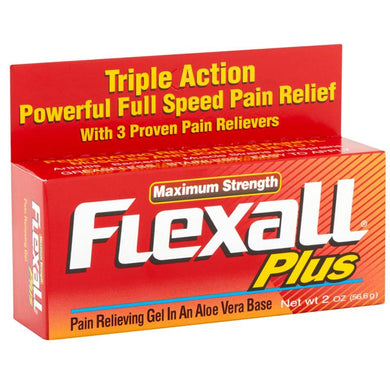 Buy Flexall Ultra Plus Pain Relief Gel with Aloe 2oz online used to treat Pain Relief Gel - Medical Conditions