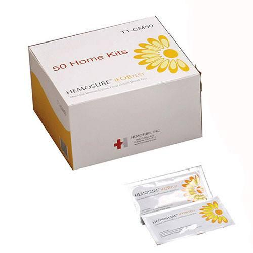 Fecal Specimen Collection Kit Hemosure Home Kit Mailer Collection Paper, 50/Box Fecal Occult Stool Testing Mountainside-Healthcare.com fecal occult blood testing kit, Hemosure, Home mailer kit